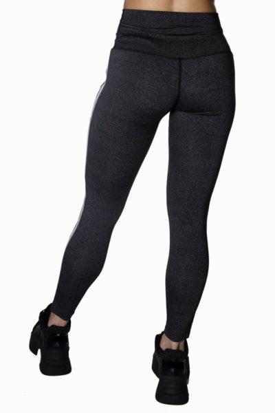 Calza deportiva de mujer Tutia color gris atras