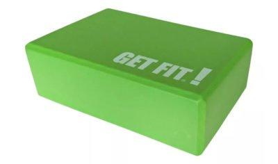 Ladrillo para yoga verde
